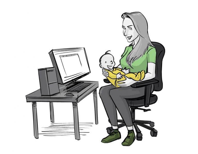Hoera! In verwachting van een betere werk-privébalans: het betaald ouderschapsverlof
